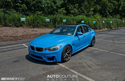 BMW M3 (F30) от Mode Carbon и AUTOcouture Motoring